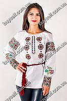 Стильная женская вышиванка Роксолана на льне