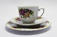 Чайное трио чашка, фарфор, ROYAL NERFOLK  Англия, фото 1