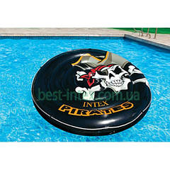 Intex 58291 (188 см.) Надувной круг-плот Pirate