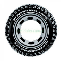 """Надувной круг """"Покрышка"""" Intex 59252"""