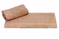 Полотенце махровое банное Hobby Sultan бежевый 50х90 см