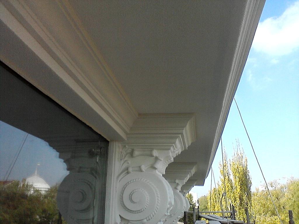 Фасадные работы. Магазин DOMANI (г. Херсон, пр. Ушакова) 3