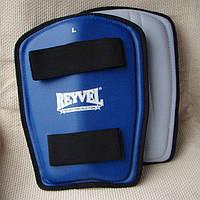 Защита голени REYVEL, винил (красн. XL)