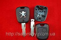 Ключ Peugeot 206. корпус ключа лезвие NE72