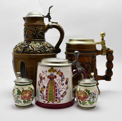 Керамика Старая Европа (вазы, кружки, кувшины)