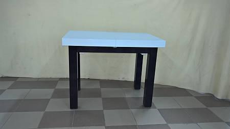 Стол КАРЕ (белый+венге)