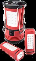 Ліхтарі кемпінгові та світильники аварійного освітлення.