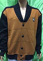 Тёплые турецкие мужские толстовки - кофты больших размеров.