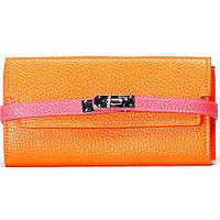 Женский кошелек оранжевый , фото 1
