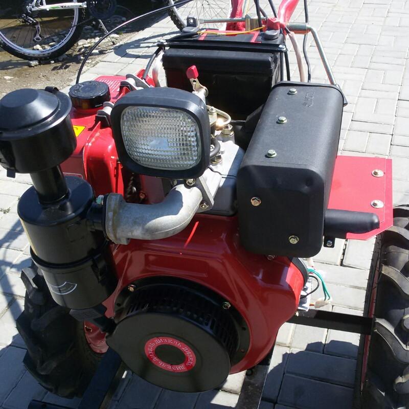 Мотоблок 186Е, 9л.с.эл/старт,дизель,аккумулятор 36А. Доставка бесплатно.