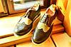Кожаные мужские туфли броги Florentino (новые). , фото 2