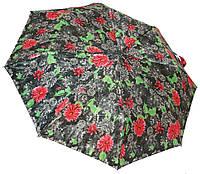 Зонт женский полуавтомат цветы 10622-55BS/4