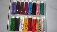 Акриловые краски для китайской росписи 16 шт