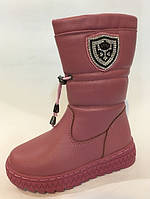 Сапоги зимние на девочку, детская зимняя обувь ТОММ.Размеры 25-29, фото 1