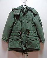Детская демисезонная куртка - парка Street Gang