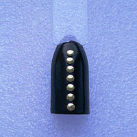 Кнопка золотая для дизайна ногтей 50шт.