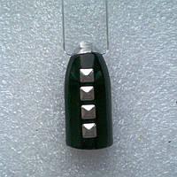 Квадрат серебряный для дизайна ногтей 50шт.