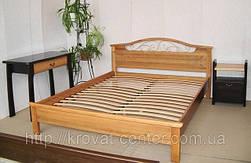 """Кровать """"Фантазия - 2"""". Массив - ольха. 1"""