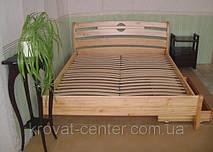 """Кровать """"Каприз"""". Массив дерева - ольха."""