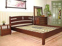 """Кровать """"Сакура"""". Массив дерева - ольха."""