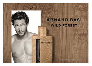 Armand Basi Wild Forest туалетная вода 90 ml. (Арманд Баси Вилд Форест), фото 3