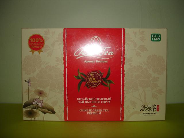 Китайский зеленый чай высшего сорта.