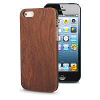 Чехол (защитная крышка) для IPhone 5, 5S дерево+пластик Woodcase Diels, фото 1