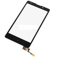 Тачскрин сенсорное стекло для Nokia XL black original