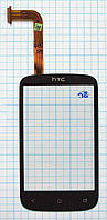 Тачскрин сенсорное стекло для HTC Desire C A320e black