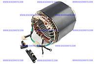 Перемотка обмотки (статора) дизельного генератора 9л.с. 186F мотоблока