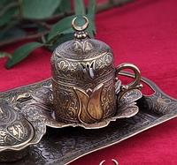 Чашка для кофе Античный тюльпан