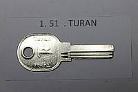 Заготовка ключа TURAN