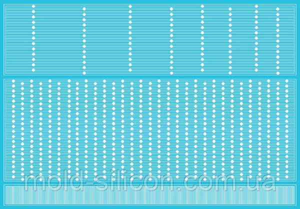 Силіконовий килимок Sugarveil Точкова вуаль