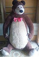 Б/у Огромный плюшевый Медведь (из мульта Маша и Медведь)