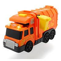"""Игрушечные машинки и техника «Dickie Toys» (3302000) мусоровоз """"City Cleaner"""", 15 см"""