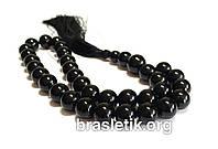 Четки из Агата Черного натуральный камень