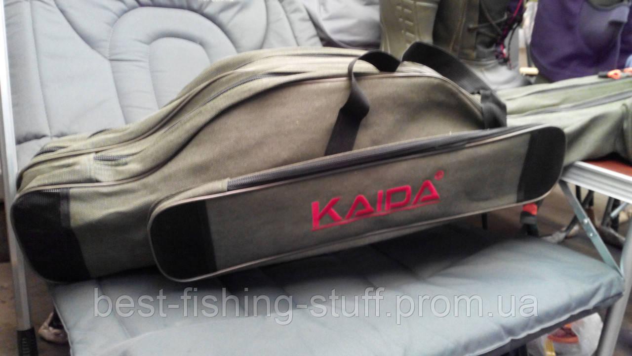 Чехол для удилищ с катушками KAIDA 150см