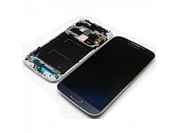Дисплейный модуль в рамке для Samsung i9505 Galaxy S4 LTE (Black) Original