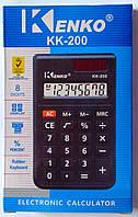 Калькулятор карманный KK-200 U-166 Kenko Китай