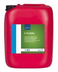 Моющее средство для мытья трубопроводов, танков и установок на молочных, пивоваренных пред. Kiilto F 70 HERO