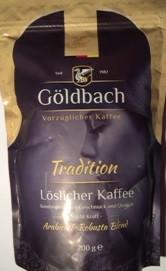 Кофе растворимый Goldbach Tradition ,   200 гр