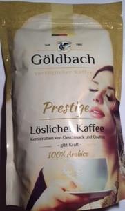 Кофе растворимый Goldbach Prestige ,   200 гр