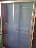 Душова двері Golston G-S8009, 1200x1900 мм, прозоре скло, фото 5