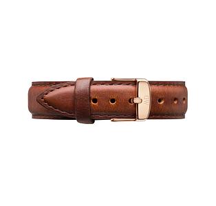 Кожаный ремешок Daniel Wellington St. Mawes 18 MM Brown DW00200111