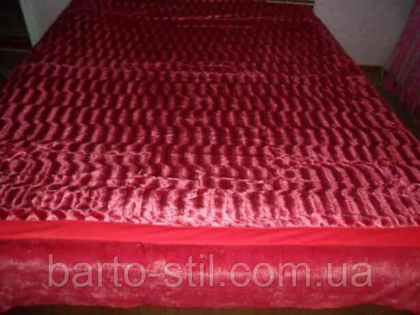 Плед-Покривало 200 на 230 (Норка) Искусственный мех двухсторонний. В наличии 12 цветов.