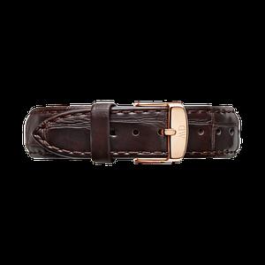 Кожаный ремешок Daniel Wellington Classic York Embossed 18 mm 0710DW