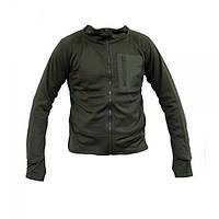 Тактическая флисовая рубашка MIL-TEC THERMOFLEECE OD