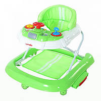 Детские ходунки Carrello 3 в 1 CRL-9601 Green (ходунки качалка, каталка)