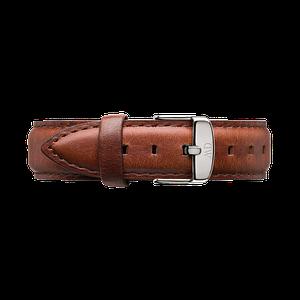 Кожаный ремешок Daniel Wellington St. Mawes 18 MM Brown DW00200113