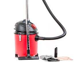 Строительный пылесос Intertool DT-1020 на 20 литров
